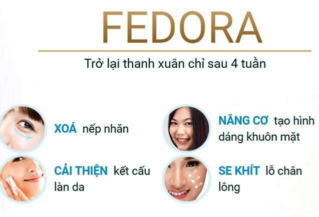 Công dụng kem Fedora