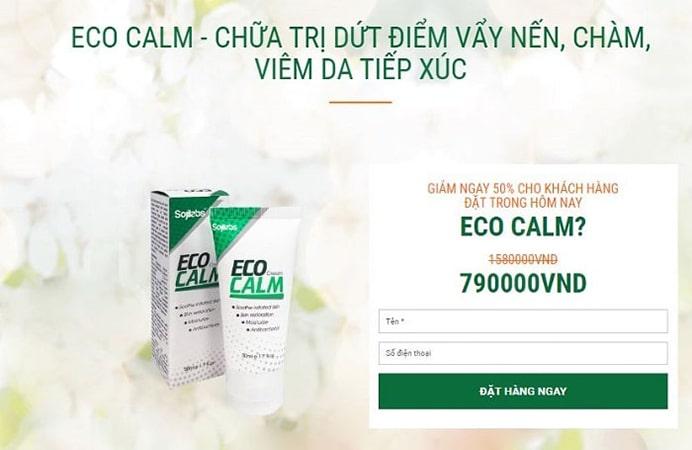 Eco Calm giá bao nhiêu