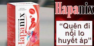 Hapanix làm sạch mạch máu