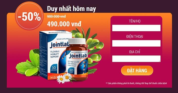 Jointlab giá bao nhiêu tiền