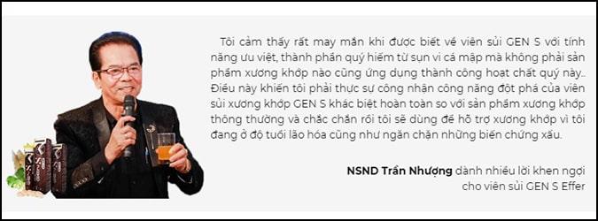 NS Trần Nhượng review Gen S Effer