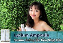 Serum Lycium Ampoule chống lão hóa Nhật Bản