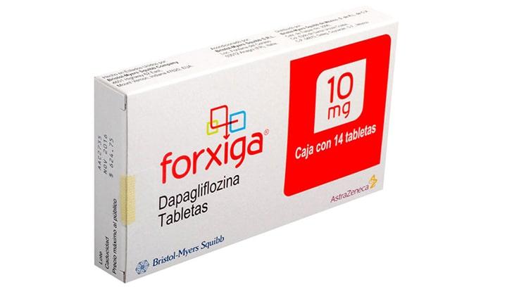 2. Thuốc tây trị tiểu đường Forxiga