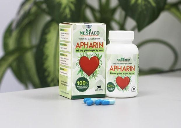 Thuốc hạ huyết áp khẩn cấp APHARIN