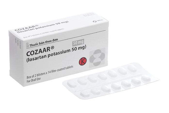 Thuốc hạ huyết áp hàng ngày Cozaar