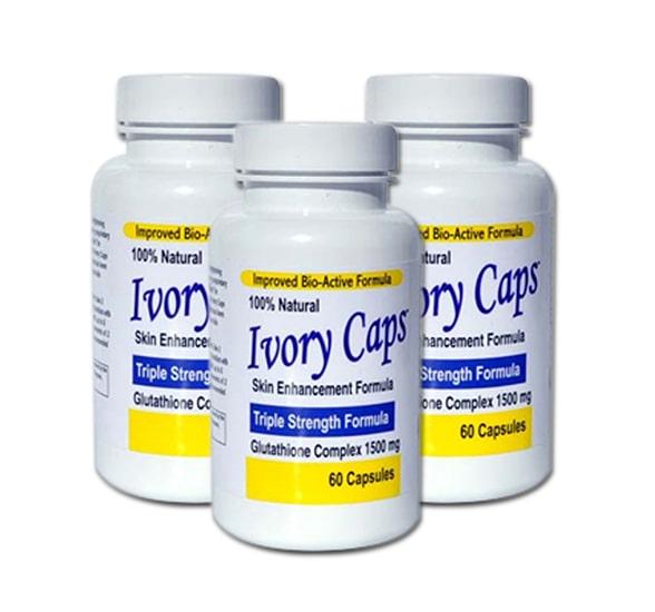 Thuốc trị nám tàn nhang Ivory Caps