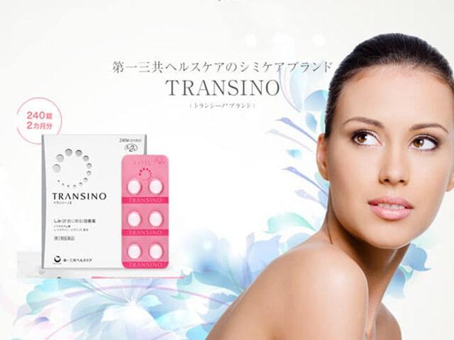 Viên uống trị nám Transino của Nhật