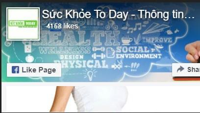 Fanpage Suc Khoe Today