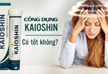 Viên sủi tiền đình Kaioshin